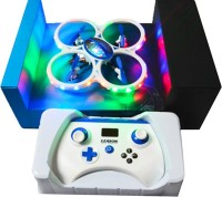 Vaibhav Drone- 3D Flying Quadcopter 2.4GHz 5CH 360'Flips 6Axis Gyro RC UFO With LED Flashing Light (Multicolour)