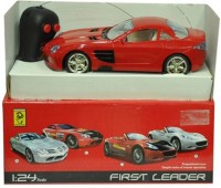 LAVIDI First Leader Racing Car Toy For Kids (Red)