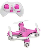 Toys Bhoomi World's Smallest RC Nano Quadcopter 4CH 2.4GHz 6-Axis Gyro LED (Pink)