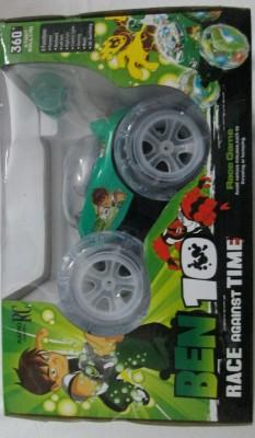B.M.R. Trading Co. Ben 10 Stunt Car (Green)