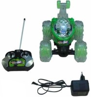 99DOTCOM Ben 10 Stunt Car With Mp3 Music (MULTICOLOUR)