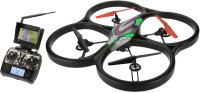 Toys Bhoomi 4CH Huge UFO Drone 6 Axis 5.8G FPV RC Quadcopter With 2.0MP 1080p HD Camera And Monitor RTF (Multicolor)
