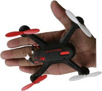 AdraxX X6 Gyro Stabilized Black Micro RC Quadcopter Drone Indoor And Outdoor (Black)