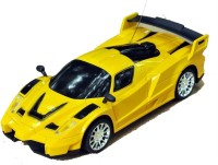 HPD Ferrai Full Function Rechargeable 1:24 Scale Remote Control Car (Yellow)