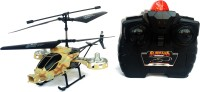 Kbnbs Remote Radio Control Rechargeable Aviator Helicopter Toy (Multicolor)
