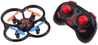 Basetronix 6-axis Ufo Intruder Mini Rc Quadcopter Ready To Fly 2.4ghz (Black)