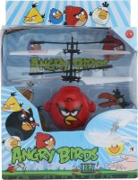 Buds N Blossoms  IR Sensor Angry Bird Mini Flyer (Pleasing Blue, Hot Red)