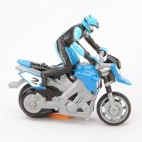 Toys Bhoomi RC Mini Stunt MotorBike (Blue)