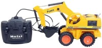 A R ENTERPRISES Wire Remote Control Jcb Construction Loader Excavator Truck Toy For Boys (MULTI)