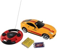 Zaprap Jackmean Remote Control RC Car With Charger Gift Toy For Kids (Yellow)