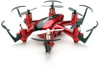 Toys Bhoomi Nano Hexacopter 2.4G 4CH 6Axis Headless Mode - Micro Quadcopters Professional Drones Flying Helicopter (Red)