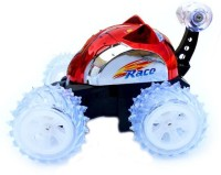Taaza Garam Rechargeable Stunt Radio Control Car (Red)