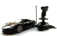 KBNBS Joystick Controlled Gravity Sensor RC Car With Real Suspension (Black)