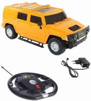 Fantasy India Remote Control Rechargeable Gravity Sensor R/C Toy Car With Steering (1:16) (Yellow)