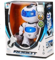 RIANZ Remote Control Electric Musical And Dancing Intelligent Robot With 3D Light And Amazing Sounds For Kids (White)