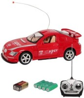 Shop & Shoppee King Driver Rechargeable Remote Control Car (Red, Blue)