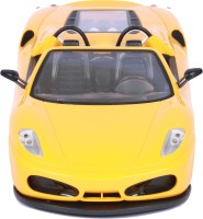 Dash Mitashi RC Rechargeable Lighting Racer Car (Yellow, Red)
