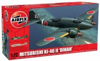 Airfix A02016 Mitsubishi KI-46-II Dinah Building Kit, 1:72 Scale (Multicolor108)