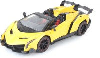 The Flyer's Bay Lamborghini Veneno Style Full Function Rechargeable Car With Door Opening Full Feature (1:18) (Multicolor)