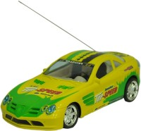 Scrazy Super Smart Yellow Fisrt Leader Car (Yellow, Green)