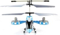 Muu 4 Channel Rc Avatar Fighter Helicopter (Blue)
