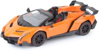 The Flyer's Bay Lamborghini Veneno Style Full Function Rechargeable Car With Door Opening Feature (1:18) (Multicolor)