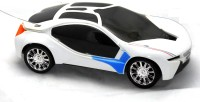 Premk Magic 3d Lights Sports Car (White)