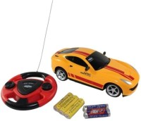 Zaprap Jackmean Rechargable Remote Control Car Toy For Kids -Yellow (Yellow)