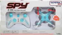 General AUX 2.4G 4.5 Channels Remote Control Quadcopter With 6 Axis GYRO Drone SKY BLUE QUADCOPTER (Blue)