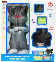 Taaza Garam  Dazzle Dance Tom Cat -Interactive Remote Control Toy (Grey)