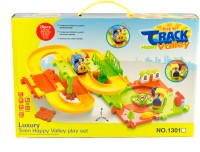Planet Toys Luxury Train Happy Valley Play Set (YELLOW)
