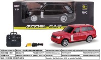 Saurabh Import 4 Simulation Range Rover With Remote Control Car (Red, Black)