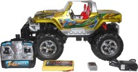 VTC Rock Crawler Yellow Rc Toy With Rechargeable Batter And Charger (Yellow)