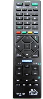 Indiashopers Compatible For Sony 3d/lcd/led/smart TV URC 121 Remote Controller available at Flipkart for Rs.279