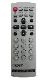 Indiashopers Ispnsnc Compatible For PANASONIC Universal-3 URC-57 Remote Controller