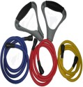 Aerofit Resistance Bands Set Resistance Tube - Blue, Red, Yellow