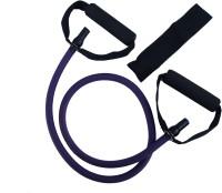 Asquare Mart Level 4 Super Heavy Strength 50-55LB Pull String Resistance Tube (Purple)