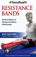 Thera-Band Advanced Latex Heavy Resistance Tube (Blue, Black)
