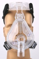 MAS MAS-FM 01 CPAP Full Face Mask Respiratory Exerciser (Pack Of 1)