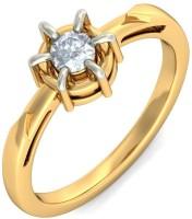 BlueStone The Aida Yellow Gold Diamond 14 K Ring
