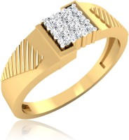 IskiUski Foster Men's Ring Gold Diamond 22K Yellow Gold 14 K Ring