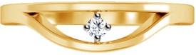 Jacknjewel Antique Sterling Silver Diamond Yellow Gold Ring
