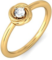 BlueStone The Ruon Yellow Gold Diamond 14 K Ring