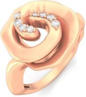BlueStone Winter Rose Rose Gold Diamond 14 K Ring