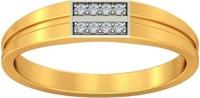 JacknJewel Boulder Gold Diamond 18K Yellow Gold Plated 18 K Ring