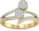 WearYourShine By PCJ The Mary Jane Diamond Gold Diamond Ring