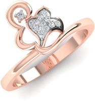 Caratify Unicorn Rose Gold Diamond 14K Rose Gold Plated 14 K Ring