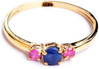 MASTERPIECES Gold Ruby, Sapphire 14K Yellow Gold 14 K Ring