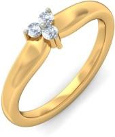 BlueStone The Simplistic Style Yellow Gold Diamond 14 K Ring