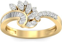 WearYourShine By PCJ The Erksina Diamond Gold Diamond 18K Yellow Gold 18 K Ring